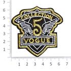 Термоаппликация №2401 «COLLETION 5 VOGUE» (7б) 7*7 см