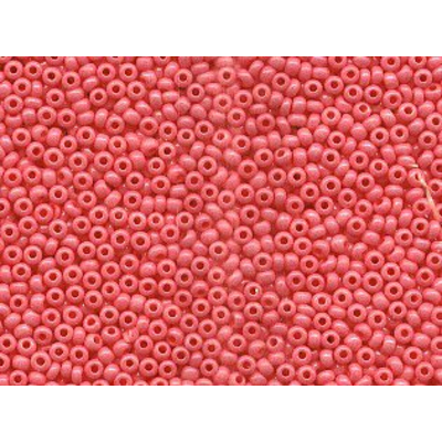 Бисер Preciosa Чехия (уп. 50 г) 16398 розовый перламутровый в интернет-магазине Швейпрофи.рф