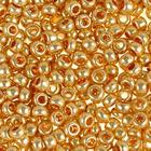 Бисер Preciosa Чехия (уп. 50 г) 18184 золотистый металлик