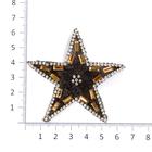Термоаппликация ТВT.TEP 4.2 со стразами «Звезда» 7б
