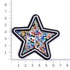 Термоаппликация ТВT.TEP 4.3 со стразами «Звезда» цв.1 (7б)