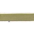 Тесьма брючная 15 мм с654 №11 оливк. рул. 50 м
