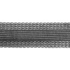 Тесьма брючная 25 мм клеевая рул. 50 м св.-сер.