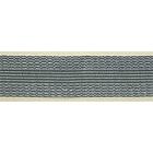 Тесьма брючная 25 мм клеевая уп. 108 см сер.
