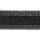 Тесьма брючная 25 мм клеевая уп. 108 см черн.