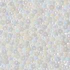 Бисер Preciosa Чехия (уп. 50 г) 46205 белый радужный