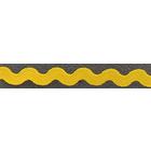 Тесьма вьюнчик 5 мм (рул. 25 м) жёлтый