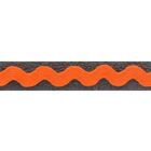 Тесьма вьюнчик 5 мм (рул. 25 м) оранжевый