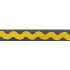 Тесьма вьюнчик 5 мм JZ-5 (уп. 30 м) №10 жёлтый