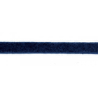 Тесьма иск. замша 4 мм (уп. 90 м) 45 син.