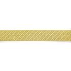Тесьма металл. 15 мм MJR-15 (уп. 33 м) золото