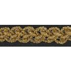 Тесьма металл. 15 мм MTR-15 (уп. 22,5 м) золото