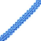 Тесьма отделочная 10 мм ШМ «Шанель» (уп. 18,28 м) №164 голубой