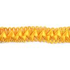 Тесьма отделочная 17 мм «Самоса» (уп. 18 м) 023 жёлтый
