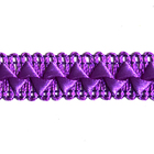 Тесьма отделочная 17 мм «Самоса» (уп. 18 м) 083 фиолетовый
