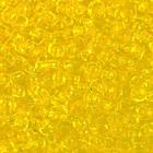 Бисер Preciosa Чехия (уп. 50 г) 80010 желтый прозрачный