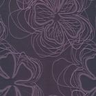 Ткань подкл. вискоза 48%; п/э 52%, №107 фиол. (цветы)