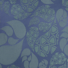 Ткань подкл. поливискон, вискоза 47%; п/э 53% жаккард (шир. 150 см) PV302/1 зелёный/синий