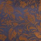 Ткань подкл. поливискон, вискоза 47%; п/э 53% жаккард (шир. 150 см) PV4021/12 золото/синий