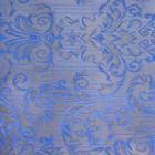 Ткань подкл. поливискон, вискоза 47%; п/э 53% жаккард (шир. 150 см) T930/07 голубой