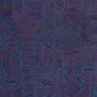 Ткань подкл. поливискон, вискоза 47%; п/э 53% жаккард (шир. 150 см) T930/10 фиолетовый