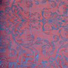 Ткань подкл. поливискон, вискоза 47%; п/э 53% жаккард (шир. 150 см) T930/19 коралл/голуб.
