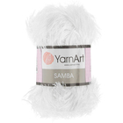 Пряжа Травка (YarnArt Samba), 100 г / 110 м, 0501 белоснежный