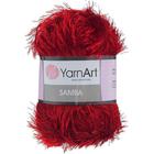 Пряжа Травка (YarnArt Samba), 100 г / 110 м, 2026 темно-красный