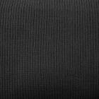 Трикотажное полотно (шир. 40 см) акрил плотное чёрный