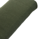 Трикотажное полотно (шир. 40 см) п/ш плотное 369 хаки
