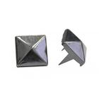 Украшение П. 53233 с шипами 8*8 мм «Пирамидка» 509468 т. серебро