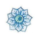 Цветы FL 067 голубой