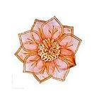 Цветы FL 067 оранжевый