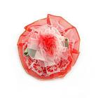 Цветы пришивные 1-247 красный
