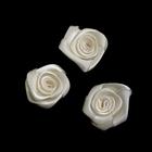 Цветы пришивные К-9080 розочка 3 см 028 шампань