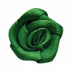 Цветы пришивные К-9081 розочка 1,9 см 579 зеленый