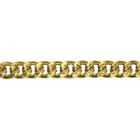 Цепочка K1415 алюмин. 9,2*7,2 мм (уп. 10 м) золото