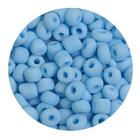 Бисер крупный Тайвань (уп. 10 г) 0043 голубой матовый