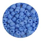 Бисер крупный Тайвань (уп. 10 г) 0043В св.-синий матовый