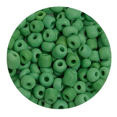 Бисер крупный Тайвань (уп. 10 г) 0047 зеленый матовый в интернет-магазине Швейпрофи.рф