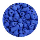 Бисер крупный Тайвань (уп. 10 г) 0048 синий матовый