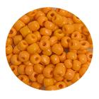 Бисер крупный Тайвань (уп. 10 г) 0050 оранжевый матовый