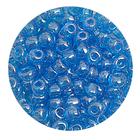 Бисер крупный Тайвань (уп. 10 г) 0103В голубой прозрачный