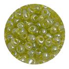 Бисер крупный Тайвань (уп. 10 г) 0104 салатовый прозрачный