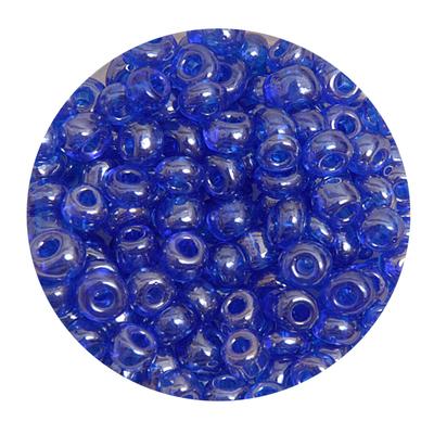 Бисер крупный Тайвань (уп. 10 г) 0108 синий прозрачный в интернет-магазине Швейпрофи.рф