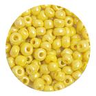 Бисер крупный Тайвань (уп. 10 г) 0122 желтый перламутровый