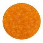 Бисер крупный Тайвань (уп. 10 г) М009 оранжевый матовый