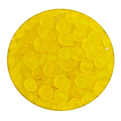 Бисер крупный Тайвань (уп. 10 г) М010 желтый матовый в интернет-магазине Швейпрофи.рф