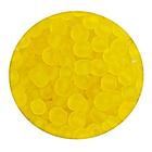 Бисер крупный Тайвань (уп. 10 г) М010 желтый матовый