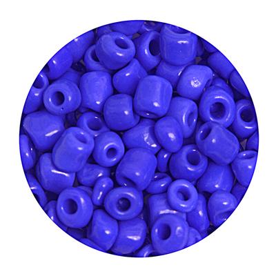 Бисер крупный Тайвань (уп. 10 г) М048 синий матовый в интернет-магазине Швейпрофи.рф